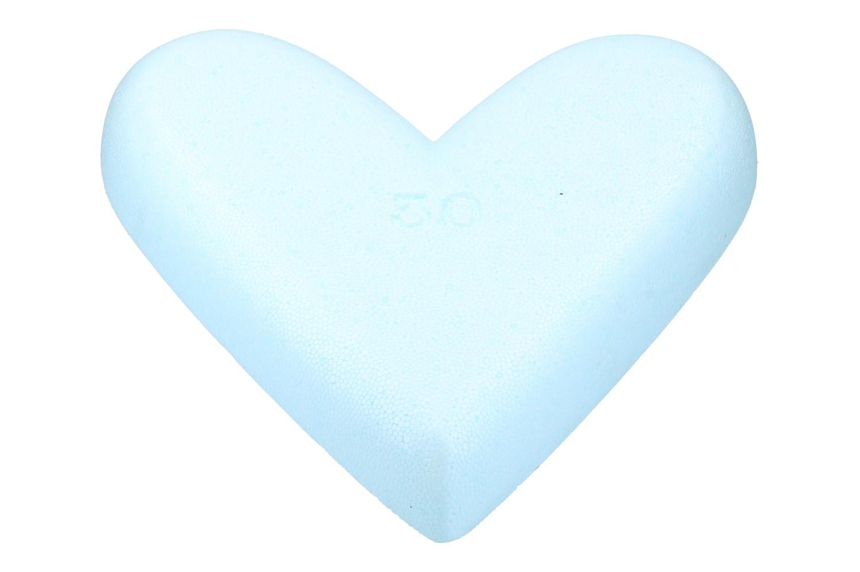 Styropor Herz 30cm, 1 Stück