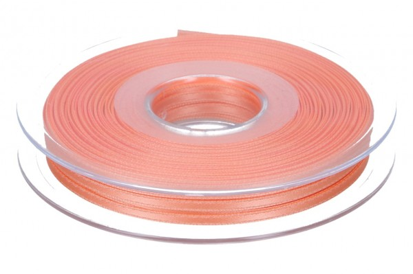 Satinband 3mm, 50m, apricot