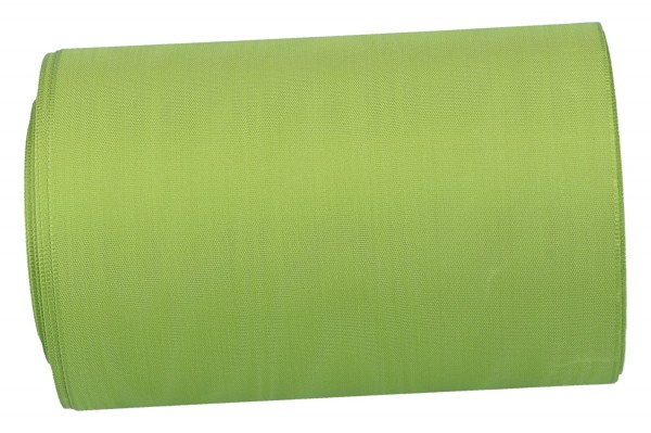 Moiré-Kranzband 150mm, 25m, grün