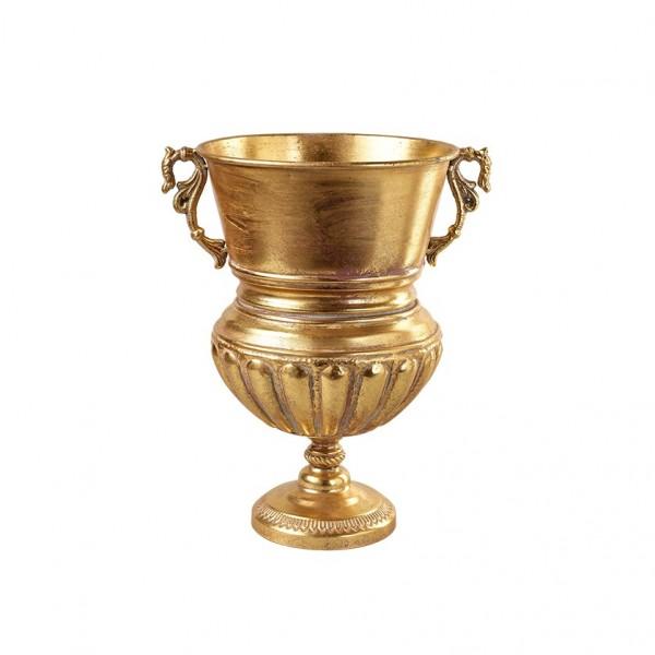 Pokal auf Fuß mit Henkel D33H49cm, Ve.1 (#153631000)