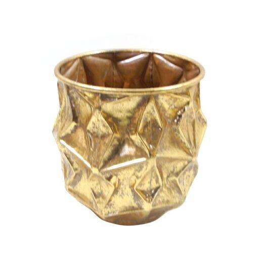 Vase D22,5H23,5cm GOLD-ANTIK