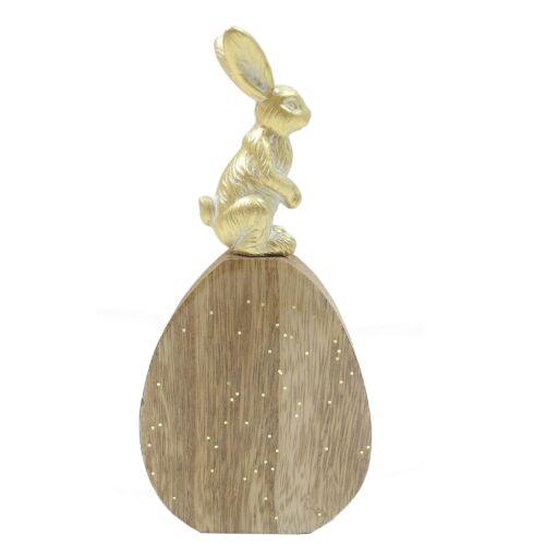 Hase auf dem Ei, H16cm, VE = 2 (#131224000)