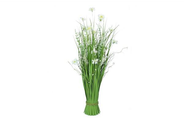 Grasbusch mit Blüten, Höhe 70cm, 1 Stück