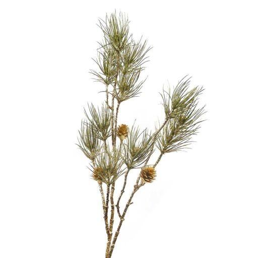 Tannen Zweig mit Zapfen, Länge 87cm