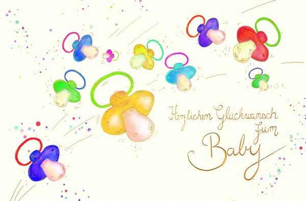Herzlichen Glückwunsch zum Baby
