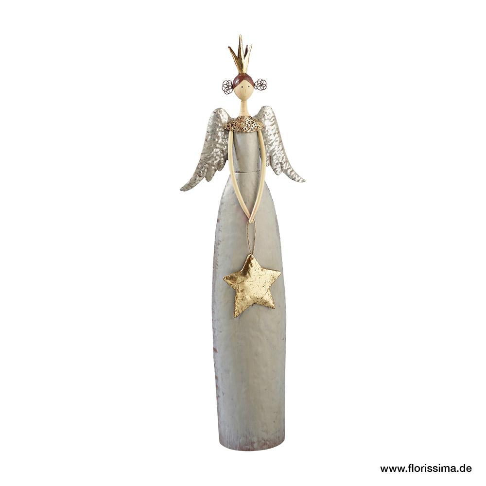 Engel mit Stern stehend H80cm, Ve. 1 Stk (#153993000)