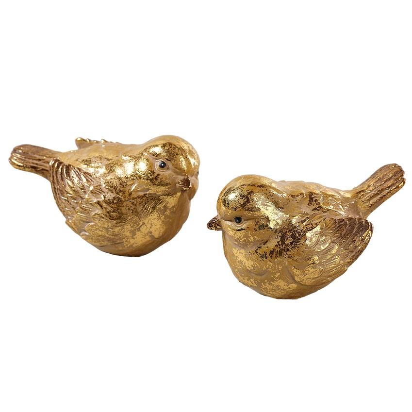 Vogel 2fach sortiert, 10x7cm, Ve. 1 (#181335000)