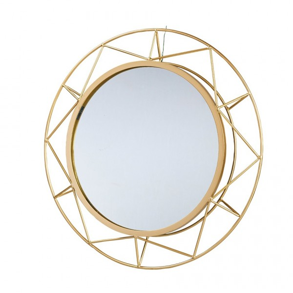 Spiegel im Metallrahmen rund D46cm, VE=1 (#153462000)