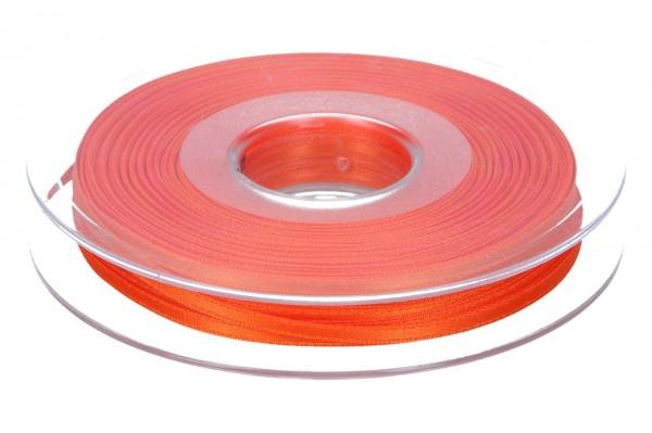 Satinband 3mm, 50m, orange