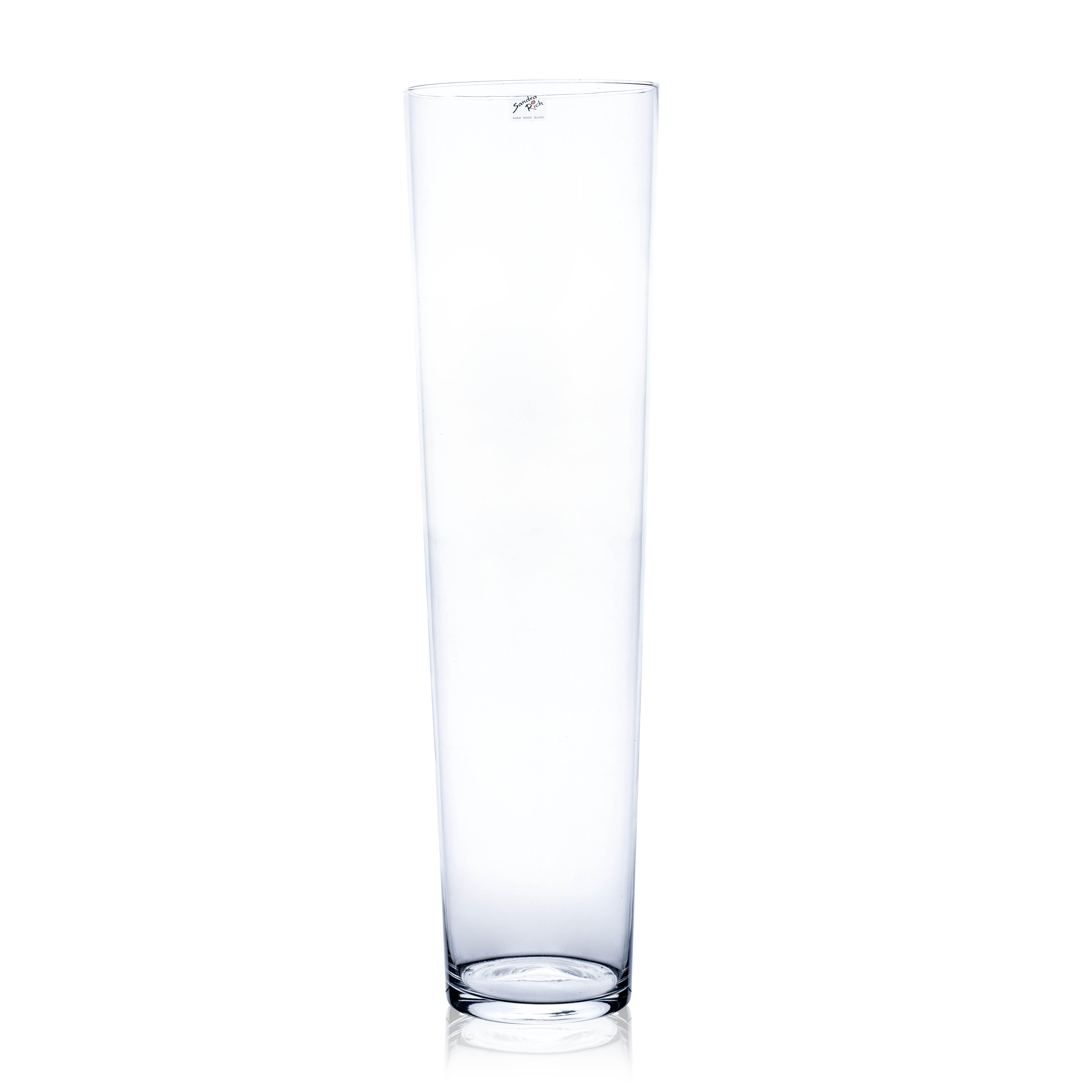 Vase 'Conical' H70cm, D19cm, Ve. 1 Stk