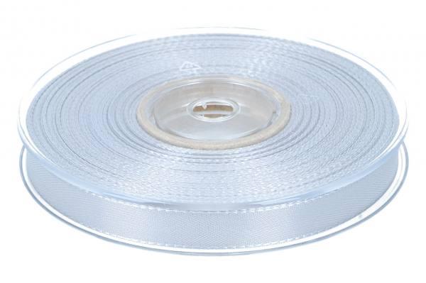 Dekoband Economy 15mm, 50m, silber/grau