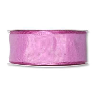 Formb. Drahtkantenband 40mm, 25m, rosa