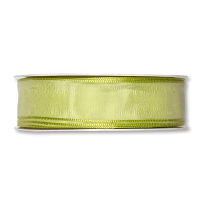 Formb. Drahtkantenband 25mm, 25m, grün