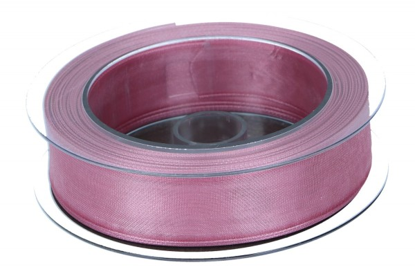 Dekoband Infinity 25mm, 20m, alt rosa