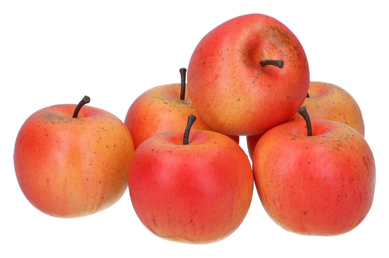 6 Äpfel 6cm