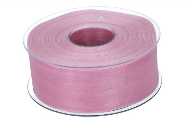 Beauty Organdy Band40mm, 50m, alt rosa