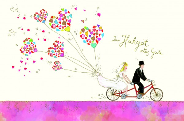Zur Hochzeit alles Gute