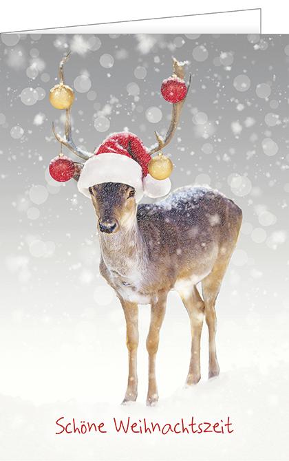 Schöne Weihnachtszeit, Ve. 1 Pack = 5Stk