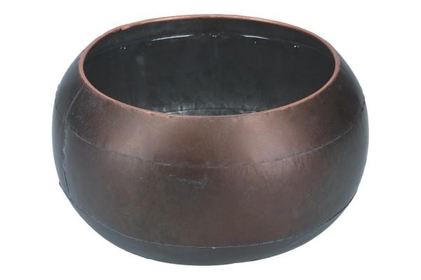 Zinkschale Ø20cm, H12cm, 1 Stück