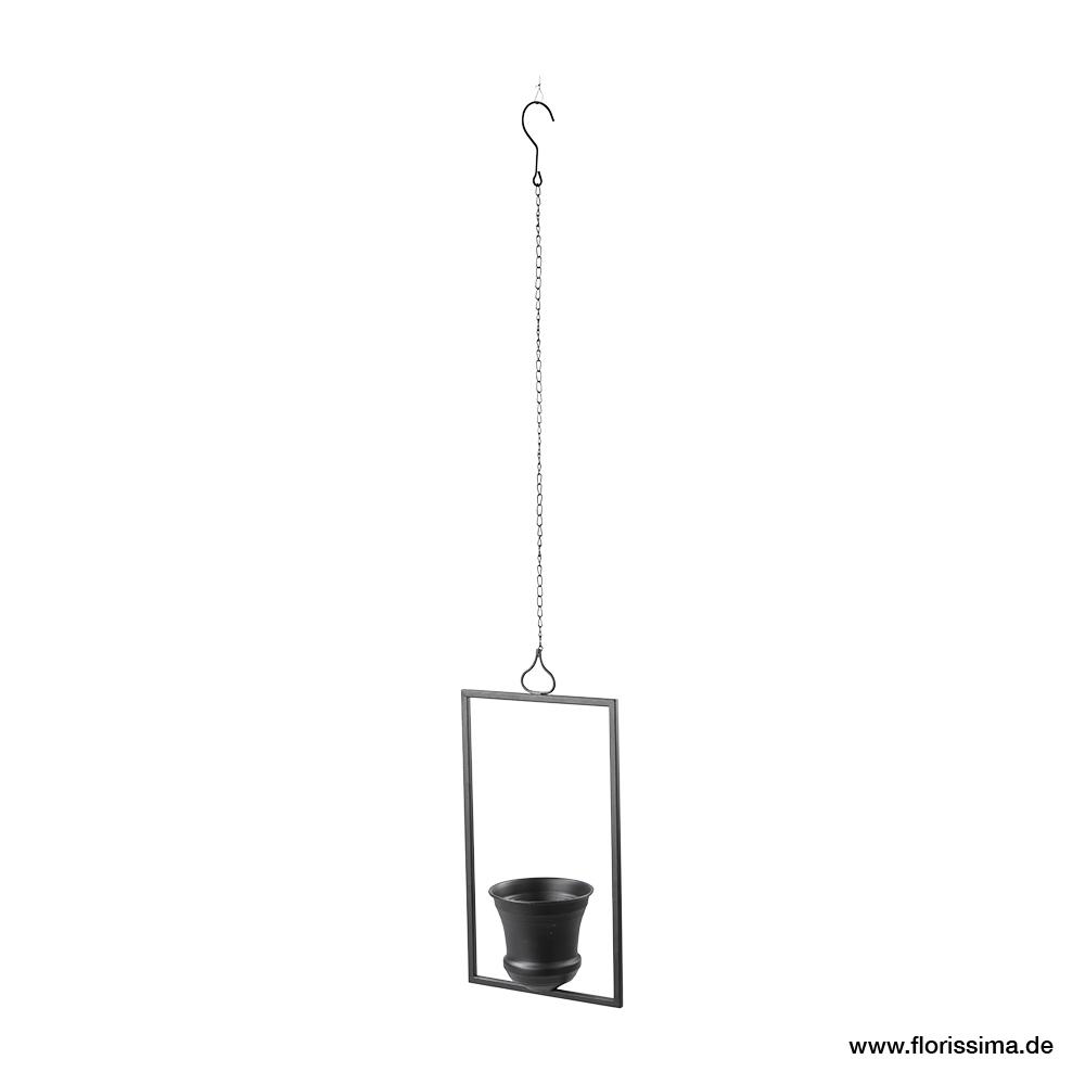 Topf im Rahmen zum hängen 23/16/46cm (#154048000)