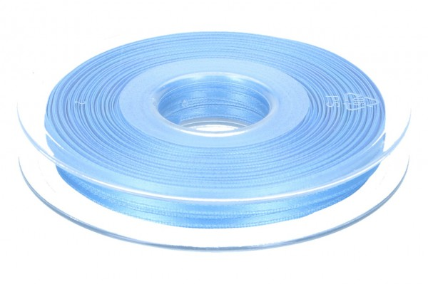 Satinband 3mm, 50m, blau