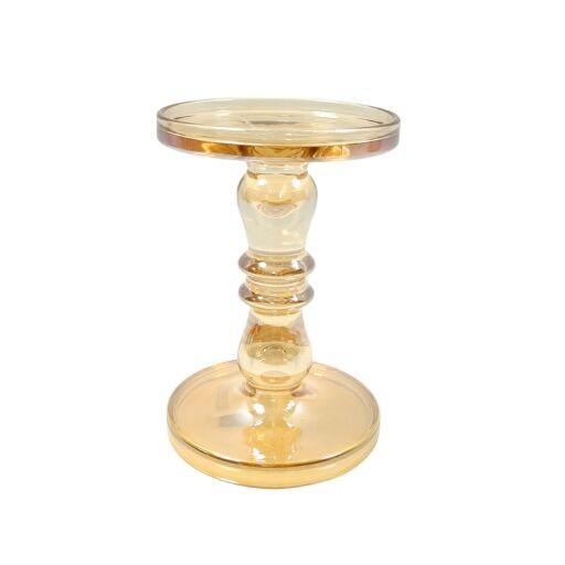 Glaskerzenhalter 13x13x19,5cm, Ve. 1 (#120591180)