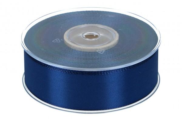 Dekoband Economy 40mm, 50m, dunkel-blau