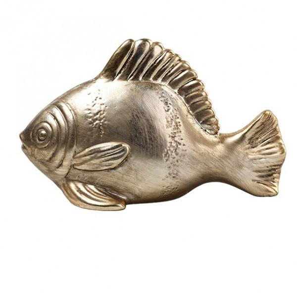 Fisch 16x10cm, altgold, Ve. 1 (#142033000)