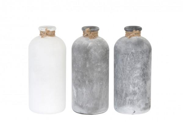 Flasche 11 x 11 x 25cm, 1 Stück