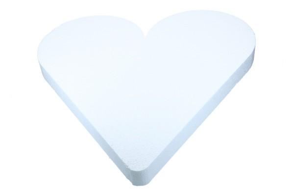Styropor Herz 70cm, 1 Stück