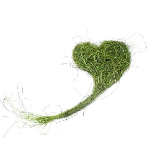 Gras Herz langgezogen, 30x60cm, 1 Stück (#160405000)