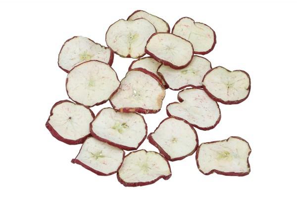 Apfelscheiben rot, 1 Beutel = 500gr