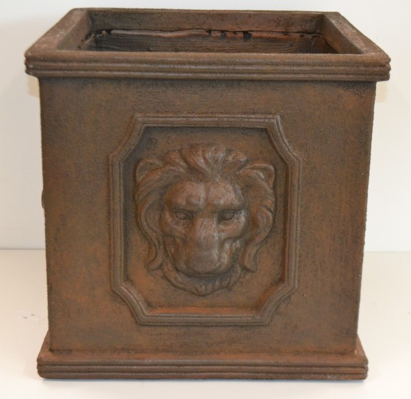 Pflanzgefäß, Texas Lion Cubi Rust, 1 St.