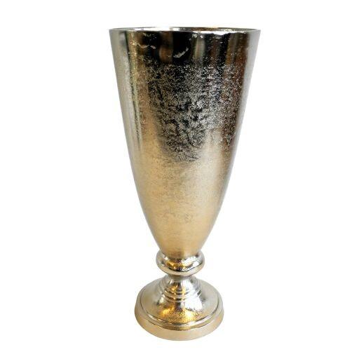 Vase auf Fuß, Höhe 45cm, 1 Stück