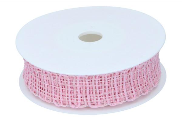 Gitterband drahtverstärkt, ca. 30mm, 8m
