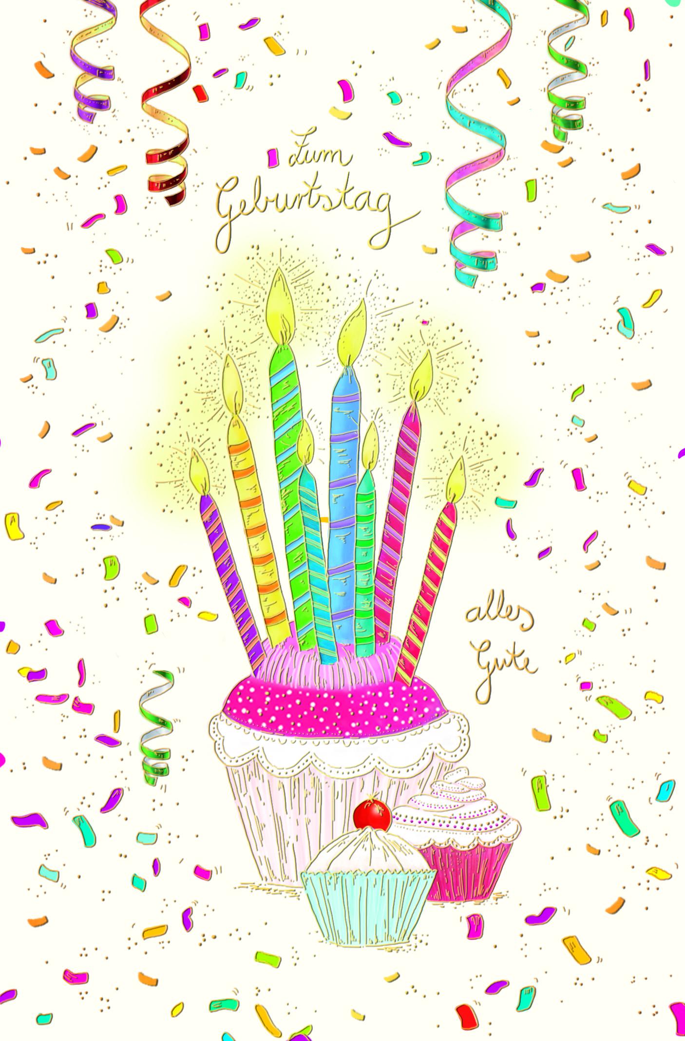 Zum Geburtstag alles Gute