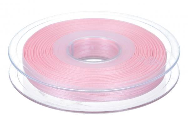 Satinband 3mm, 50m, rosa