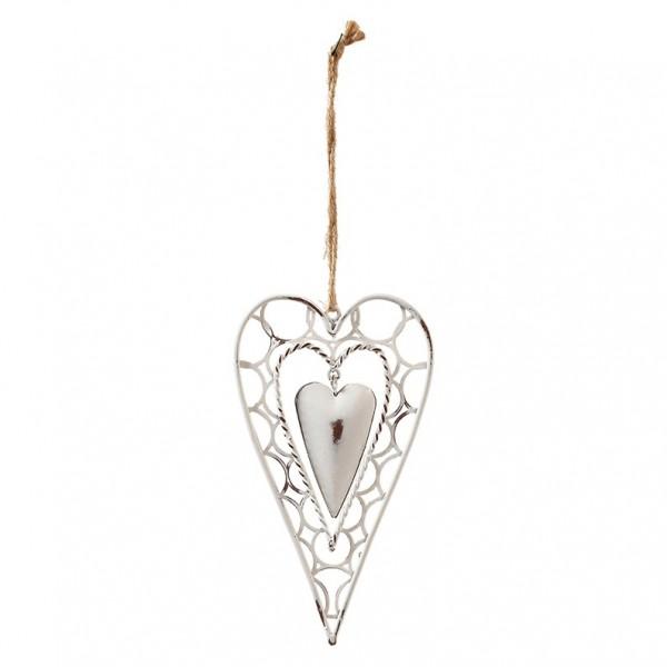 Herz spitz zum hängen, 14 x 3cm, Ve. 3 (#153492000)