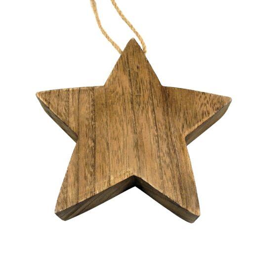 Stern auf Jutefaden, Ve. 4 Stk (#131390000)