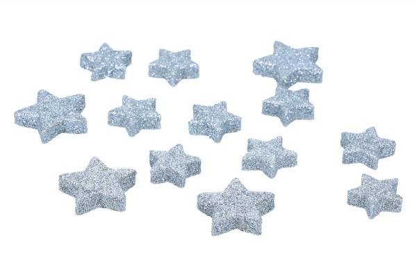 Glietter Sterne zum Streuen, 2,5 & 3cm