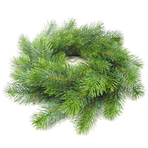 Blautannenkranz Ø 40cm, grün, 1 Stück