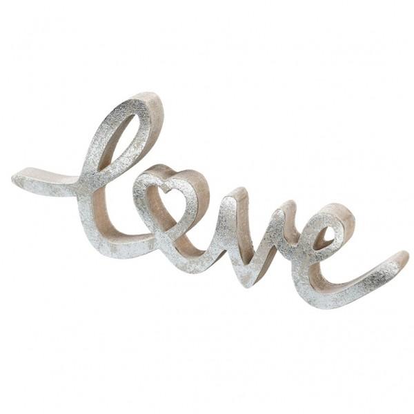 Schild ' LOVE' 20 x 8,5 x 1cm, VE = 4 (#131208000)