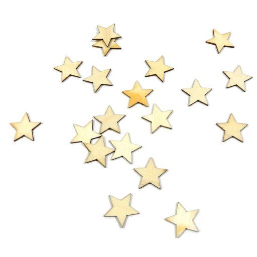 Sterne zu streuen aus Holz D1,7cm (#131359000)