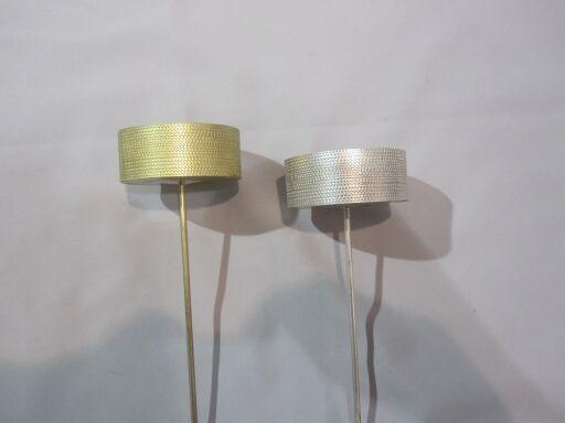 Teelichtpick Ø6cm, Höhe 2,5 / 21cm
