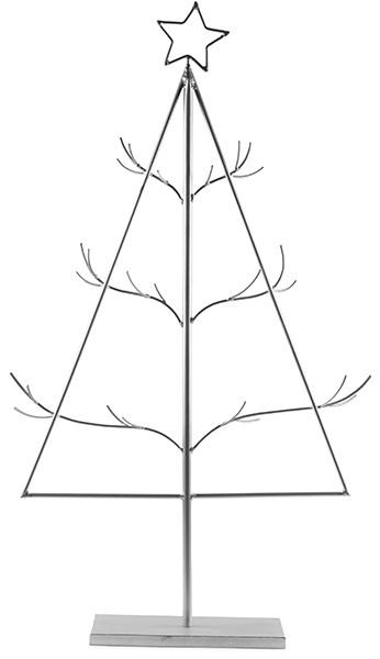Tannenbaum als Adventskalender H95cm