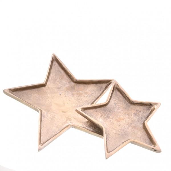 Schale Stern 20 x 20 x 2cm, 1 Stück