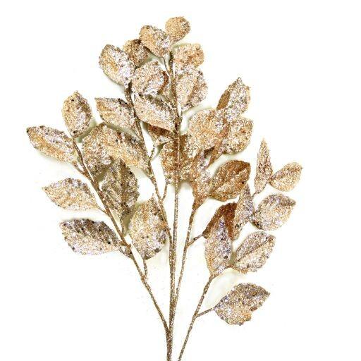 Blätterzweig Länge 75cm, 2 Stück