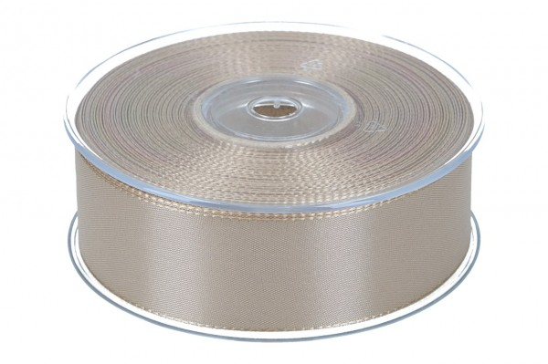 Dekoband Economy 40mm, 50m, braun-gold