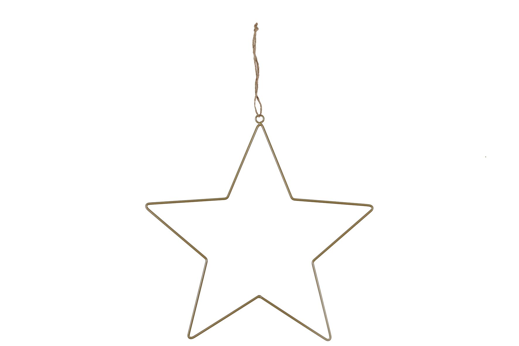 Stern zum hängen 38cm, 1 Stück