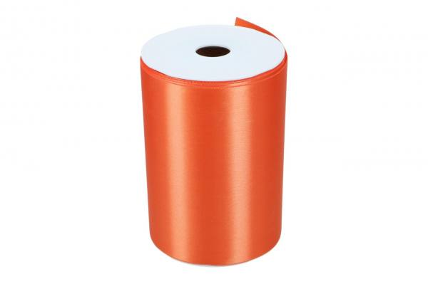Wide Satin 150mm, 25m, orange